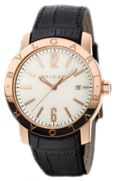 Bulgari BVLGARI BVLGARI Automatic 39mm Mens watch, model number - bbp39wgld, discount price of £12,082.00 from The Watch Source