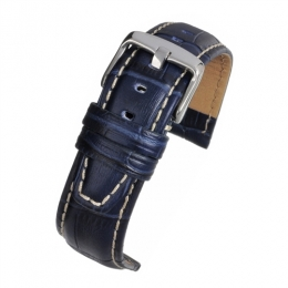 Strap 18mm Nubuck Lined high grade Alligator grain BESCGNL18MM watch
