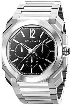 Bulgari Octo VELOCISSIMO Chronograph 41mm Mens watch, model number - bgo41bssdch, discount price of £6,400.00 from The Watch Source