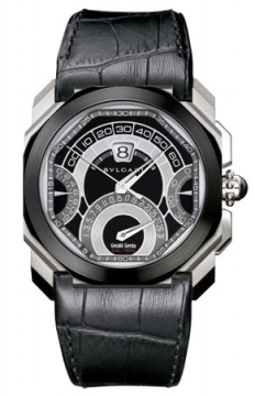 Bulgari Octo Quadri Retro 45mm Mens watch, model number - bgo45bscldchqr, discount price of £14,605.00 from The Watch Source