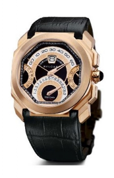 Bulgari Octo Quadri Retro 45mm Mens watch, model number - bgop45bgldchqr, discount price of £36,429.00 from The Watch Source