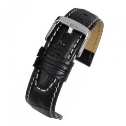 Strap 18mm Nubuck Lined high grade Alligator grain BKSCGNL18MM watch