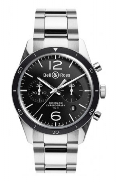 Bell & Ross BR 126 Sport Chronograph Mens watch, model number - BR 126 Sport Bracelet, discount price of £2,691.00 from The Watch Source