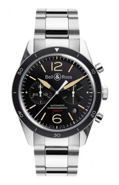 Bell & Ross BR 126 Sport Chronograph Mens watch, model number - BR 126 Sport Heritage Bracelet, discount price of £2,691.00 from The Watch Source