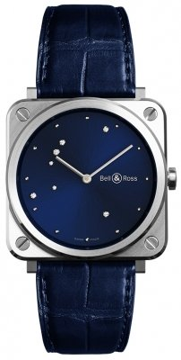 Bell & Ross BR S Quartz 39mm BRS-EA-ST/SCR watch