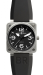 Bell & Ross BR01-92 Automatic 46mm BR01-92 Steel Black watch