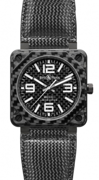 Bell & Ross BR01-92 Automatic 46mm Mens watch, model number - BR01-92 Carbon Fiber, discount price of £4,554.00 from The Watch Source