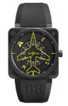 Bell & Ross BR01 Flight Intruments BR01-92 Heading Indicator watch