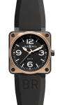 Bell & Ross BR01-92 Automatic 46mm BR01-92 Pink Gold Carbon watch