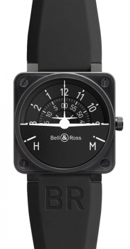 Bell & Ross BR01 Flight Instruments Mens watch, model number - BR01-92 Turn Coordinator, discount price of £3,460.00 from The Watch Source