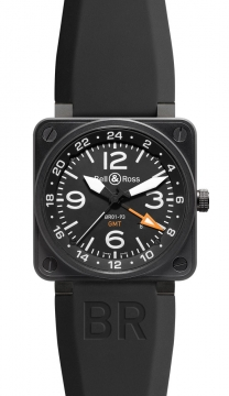 Bell & Ross BR01-93 GMT 46mm Mens watch, model number - BR01-93 GMT, discount price of £2,720.00 from The Watch Source