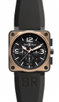 Bell & Ross BR01-94 Chronograph 46mm BR01-94 Pink Gold Carbon watch