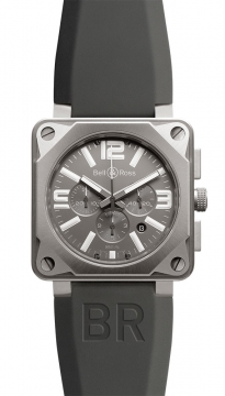 Bell & Ross BR01-94 Chronograph 46mm Mens watch, model number - BR01-94 Pro Titanium, discount price of £3,970.00 from The Watch Source