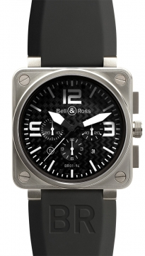 Bell & Ross BR01-94 Chronograph 46mm Mens watch, model number - BR01-94 Titanium, discount price of £3,978.00 from The Watch Source