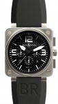 Bell & Ross BR01-94 Chronograph 46mm BR01-94 Titanium watch