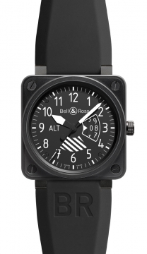 Bell & Ross BR01 Flight Intruments Mens watch, model number - BR01-96 Altimeter, discount price of £3,172.00 from The Watch Source