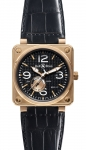 Bell & Ross BR01-97 Power Reserve 46mm BR01-97 Pink Gold watch