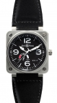 Bell & Ross BR01-97 Power Reserve 46mm BR01-97 Steel Black watch