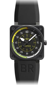 Bell & Ross BR01 Flight Instruments Mens watch, model number - BR01 Airspeed, discount price of £3,040.00 from The Watch Source