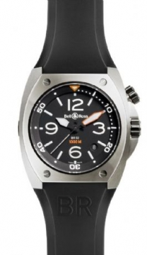 Bell & Ross BR Series Mens watch, model number - BR02 steel, discount price of £1,870.00 from The Watch Source