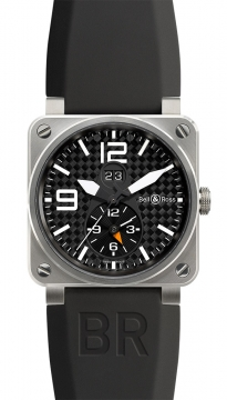 Bell & Ross BR03-51 GMT 42mm Mens watch, model number - BR03-51 GMT, discount price of £2,995.00 from The Watch Source