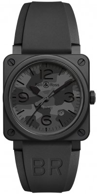Bell & Ross BR03-92 Automatic 42mm BR0392-CAMO-CE/SRB watch