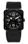 Bell & Ross BR03-92 Automatic 42mm BR03-92 Black Ceramic watch