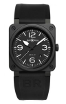 Bell & Ross BR03-92 Automatic 42mm BR03-92 Black Matte Ceramic watch