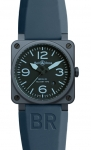 Bell & Ross BR03-92 Automatic 42mm BR03-92 Blue Ceramic watch
