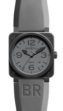 Bell & Ross BR03-92 Automatic 42mm Mens watch, model number - BR03-92 Commando, discount price of £2,285.00 from The Watch Source