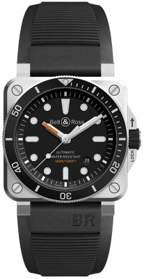 Bell & Ross BR03-92 Automatic 42mm BR0392-D-BL-ST/SRB watch