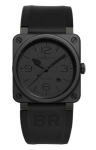 Bell & Ross BR03-92 Automatic 42mm BR03-92 Phantom Ceramic watch