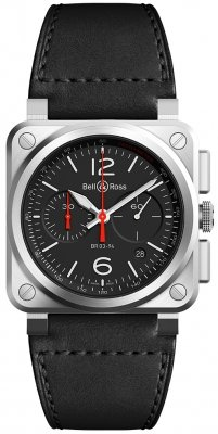 Bell & Ross BR03-94 Chronograph 42mm BR0394-BLC-ST/SCA watch