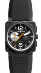 Bell & Ross BR03-94 Chronograph 42mm BR03-94 Black/White watch