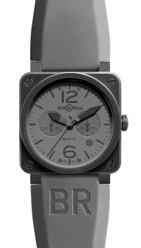 Bell & Ross BR03-94 Chronograph 42mm Mens watch, model number - BR03-94 Commando, discount price of £3,429.00 from The Watch Source