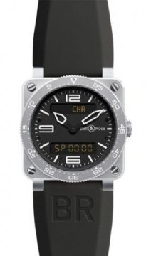Bell & Ross BR Series Mens watch, model number - BR03 Type Aviation, discount price of £1,890.00 from The Watch Source