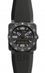 Bell & Ross BR03 Type Aviation Quartz 42mm BR03 Type Aviation Carbon watch
