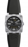 Bell & Ross BR03 Type Aviation Quartz 42mm BR03 Type Aviation Steel watch
