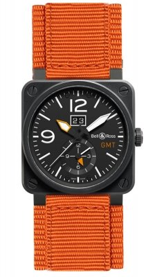 Bell & Ross BR03-51 GMT 42mm BR0351-GMT-CA watch