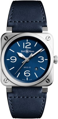 Bell & Ross BR03-92 Automatic 42mm BR0392-BLU-ST/SCA watch