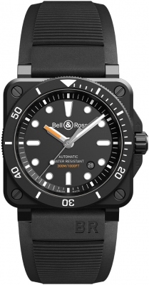 Bell & Ross BR03-92 Automatic 42mm BR0392-D-BL-CE/SRB watch