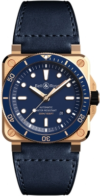 Bell & Ross BR03-92 Automatic 42mm BR0392-D-LU-BR/SCA watch