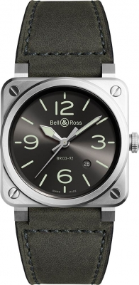 Bell & Ross BR03-92 Automatic 42mm BR0392-GC3-ST/SCA watch