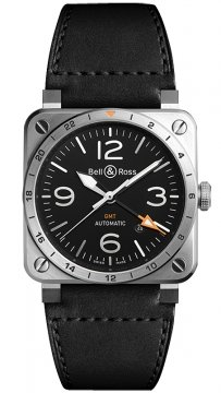 Bell & Ross BR03 GMT 42mm BR0393-GMT-ST/SCA watch
