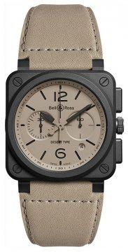 Bell & Ross BR03-94 Chronograph 42mm BR0394-DESERT-CE watch