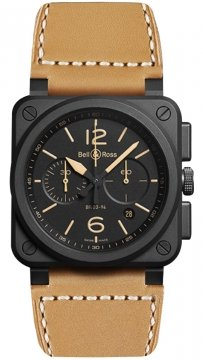 Bell & Ross BR03-94 Chronograph 42mm BR0394-HERI-CE watch