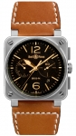 Bell & Ross BR03-94 Chronograph 42mm BR0394-ST-G-HE/SCA watch