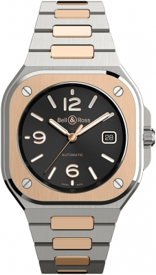 Bell & Ross BR 05 Automatic 40mm BR05A-BL-STPG/SSG watch