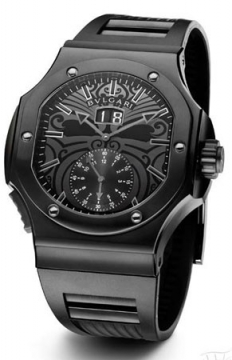 Bulgari Endurer Chronosprint Mens watch, model number - bre56bsbvdchs/ab ALL BLACK, discount price of £10,807.00 from The Watch Source