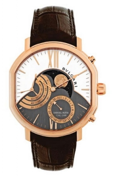 Bulgari Daniel Roth Grand Lune Mens watch, model number - brrp46c14gldmp, discount price of £19,060.00 from The Watch Source